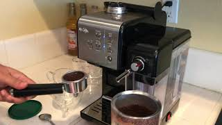 Mr. Coffee One-Touch CoffeeHouse Espresso, Latte and Cappuccino Machine