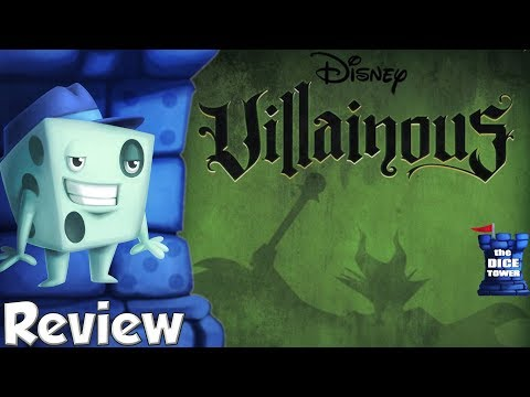 Villainous Review - with Tom Vasel