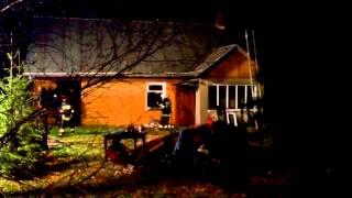 Pożar domu w Miejscu Piastowym