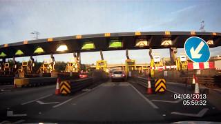 preview picture of video 'Dartford Crossing - Driving Dartford Tunnel M25 London - Prestigio RR700X'