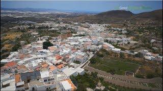 preview picture of video 'Iglesia de Santa María de la Anunciación, Jarapas, torre árabe en Nijar, Almería.'