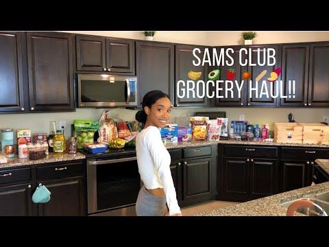 SAMS CLUB HAUL!! 2019 // WHOLESALE GROCERY HAUL //Jessica Tull