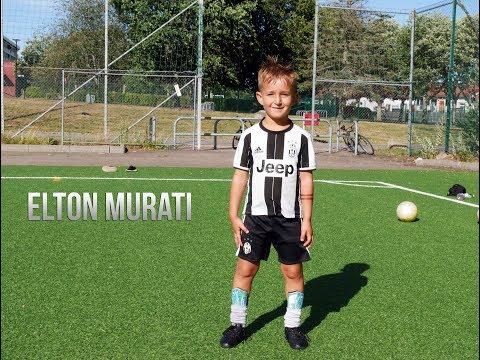 5 Year Old Football Star - Elton Murati