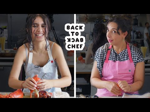 Download Alessia Cara Tries To Keep Up With A Professional Chef | Back-to-Back Chef | Bon Appétit HD Mp4 3GP Video and MP3