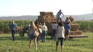 preview picture of video 'Recollida d'alfals a la finca Es Rafal de Sant Jordi'