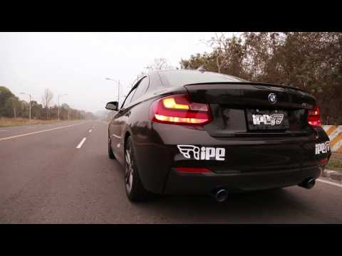 The iPE Exhaust for BMW F22 M235i