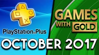 PlayStation Plus VS Xbox Games With Gold (October 2017)
