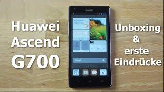Huawei Ascend G700 Unboxing und erste Eindrücke (deutsch) - www.technoviel.de