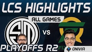 TSM vs FLY Highlights ALL GAMES Playoffs R2 LCS Spring 2020 Team Solo Mid vs Flyquest by Onivia