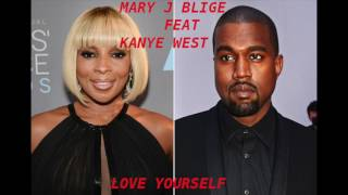 Mary J  Blige – Love Yourself feat  Kanye West (Instrumental)