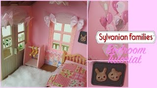 How to decorate a Sylvanian Families Girls Bedroom - Tutorial