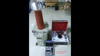 Dry Type AC Hipot Tester 100KV AC Hipot Testing Equipment Dry Type Test Transformer youtube video