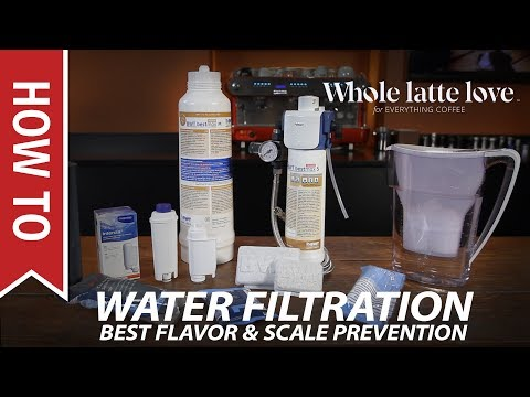 Water Filtration for Best Coffee & Espresso Flavor and Equipment Protection
