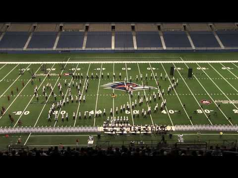 2014 UIL 6A State Marching Contest play