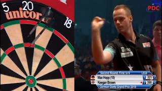2019 German Darts Grand Prix Round 2  Hopp vs Brown