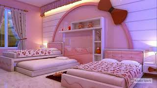 Kids Rooms For Babies And Girls - Small Kids Room Creative Ideas
