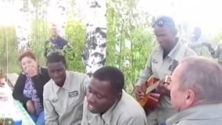 Негры спели песню - Офицеры