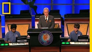 Geographic Bee 2010: Winning Question | National Geographic Bee 2010 thumbnail