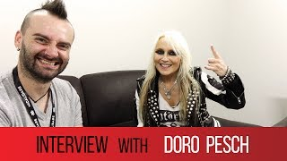 DORO PESCH from WARLOCK - 'Hello Your Metal Highness' - Interview for MMTV