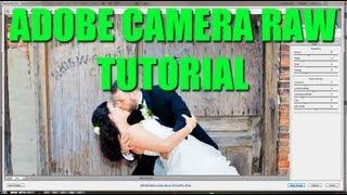 Photoshop Tutorial : Using Camera Raw Plugin in Photoshop