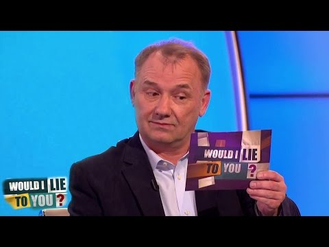 Bob Mortimer is simply legendary on British comedy show 'Would I lie to you?'