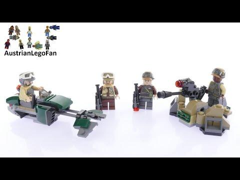 Vidéo LEGO Star Wars 75164 : Pack de combat des soldats de la Résistance