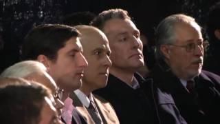 """Con el Prelado en Uruguay: encuentro en el gimnasio del colegio Monte VI (clip 13/14, 2'43"""")"""