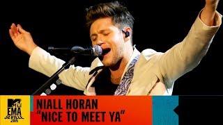 "Niall Horan   ""Nice To Meet Ya"" Live   MTV EMA 2019"