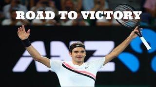 Roger Federer - Australian Open 2018 Road to Victory