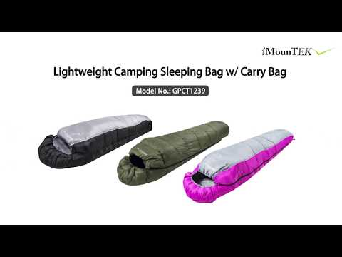 Mummy Sleeping Bag Camping Sleeping Bags for Adults Outdoor Soft Thick Water-Resistant