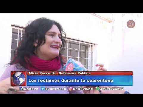 Alicia Peresutti trabajo en la Defensoría