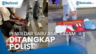 Pengedar Sabu asal Batam Ditangkap di Bandara Lombok, Pelaku Sudah Diincar sejak Seminggu Lalu