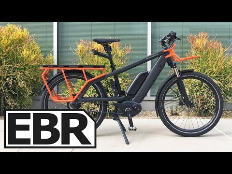 Riese & Müller Multicharger Vario Video Review – Midtail Electric Cargo Bike, Passenger Seat