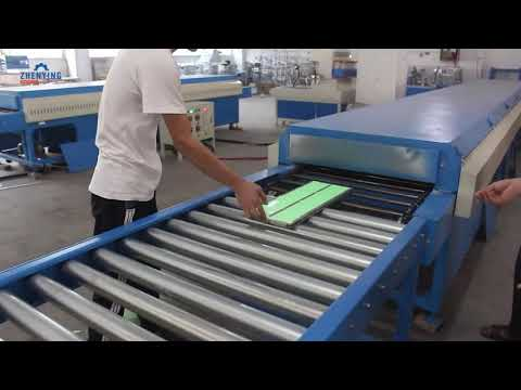 Automatic PVC bar mats production line for American customer