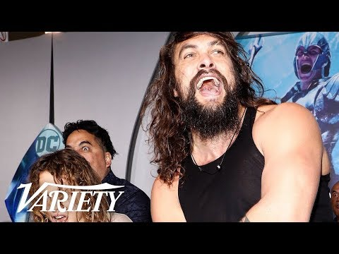 Jason Momoa – Haka at Aquaman