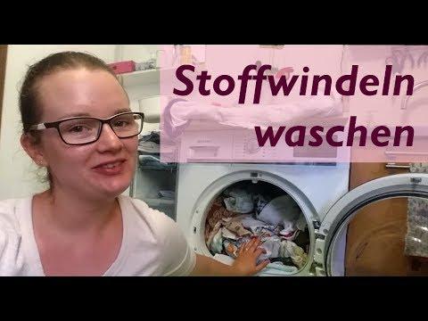 So wasche ich meine Stoffwindeln