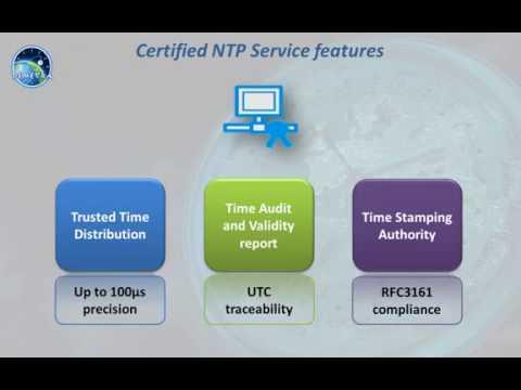 Wie funktionieren Certified NTP Time Services (englischsprachig)