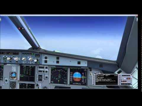 B AEROSOFT A320 Connected Flight Deck with VATSIM - смотреть онлайн