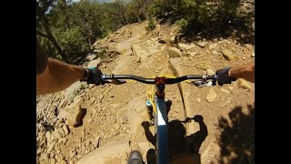 The wicked fun final descent...
