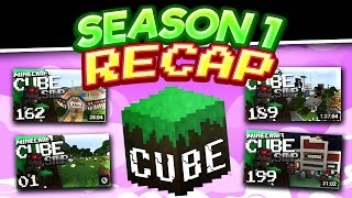 Minecraft Cube SMP S1 Recap [Map Download]