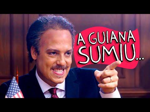 A GUIANA SUMIU...