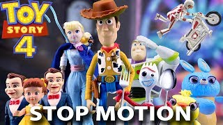 Toy Story 4 Toys Stop Motion Trailer