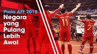 4 Negara yang Tersingkir dari Piala AFF 2018