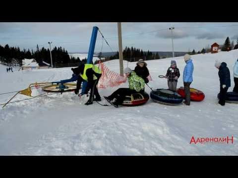 Видео: Видео горнолыжного курорта Полазна в Пермский край