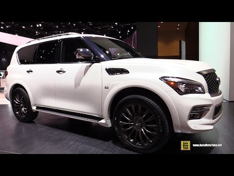 2016 Infiniti QX80 Limited - Exterior and Interior Walkaround