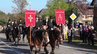 Křižer -- Osterreiter --- křižerski procesion z baćonja / Osterreiterprozession aus Storcha 2019