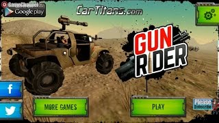 Gun Rider, Monster Truck Driver And Shoot Games, Videos Games for Children Online Unity 3D Games