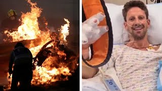 video: Romain Grosjean the 'miracle' man thankful to be alive after Bahrain GP crash