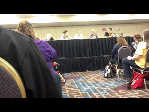 LeakyCon 2012 - Apex Panel with Evanna Lynch and Devin Lytle - Part 1