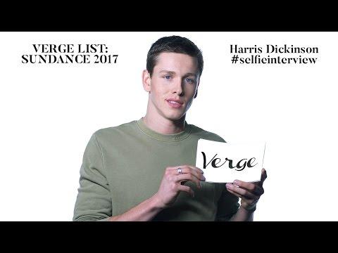 Harris Dickinson #selfieinterview Verge List: Sundance 2017